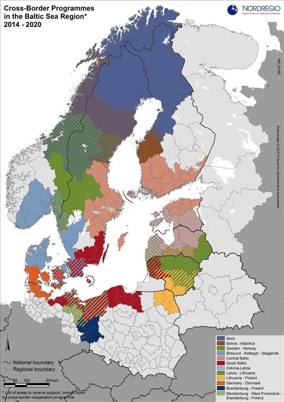 Cross-Border Programmes in the Baltic Sea Region | Nordregio