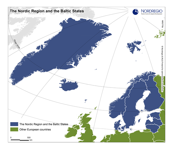 The Nordic Region and the Baltic States   Nordregio