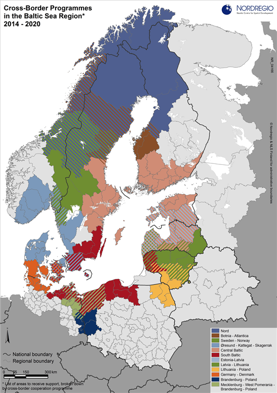 Cross-Border Programmes in the Baltic Sea Region | Nordregio